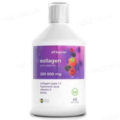 Коллаген Sporter Collagen 200000, 500 мл