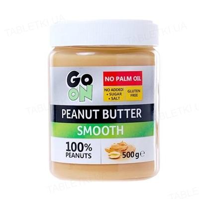 Арахисовая паста Go On Peanut butter smooth, 500 г