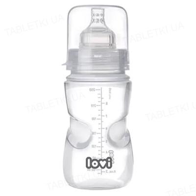 Пляшечка Lovi, з опцією самостерилізації, 21/570, 250 мл