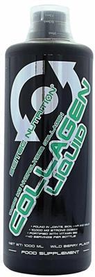 Аминокислота Scitec Nutrition Collagen Liquid, лесные ягоды, 1000 мл