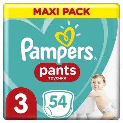 Подгузники-трусики детские Pampers Pants размер 3, 6-11 кг, 54 штуки