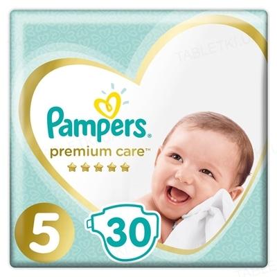 Подгузники детские Pampers Premium Care размер 5, 11-16 кг, 30 штук