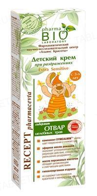 Крем детский Pharma Bio Laboratory Extra Sensitive противовоспалительный, 120 мл