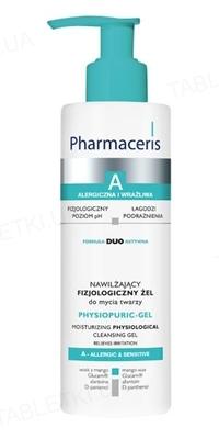 Гель для умывания Pharmaceris А Physiopuric-Gel увлажняющий, физиологический для лица и глаз, 190 мл