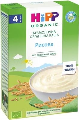 """Безмолочная органическая каша HiPP """"Рисовая"""", 200 г"""