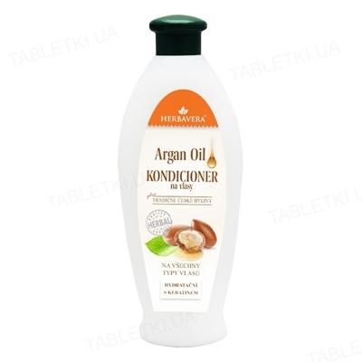 Кондиционер для волос Herbavera с аргановым маслом, 550 мл