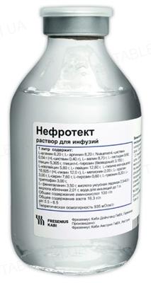 Нефротект раствор д/инф. по 250 мл №10 во флак.