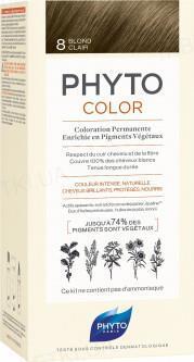 Крем-краска Phyto Phytocolor, тон 8 светло-русый, 60 мл + 40 мл