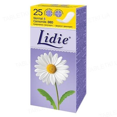 Щоденні гігієнічні прокладки Lidie Normal Deo, 25 штук