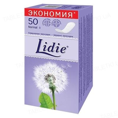 Щоденні гігієнічні прокладки Lidie Normal, 50 штук