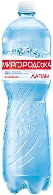 Вода минеральная Миргородская Лагидная негазированная, 1,5 л