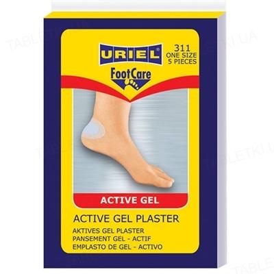 Гель-пластырь активный гелевый Uriel 311, 5 штук