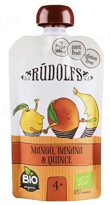 Фруктовое Пюре Rudolfs Смузи манго-банан-айва органическое, 110 г
