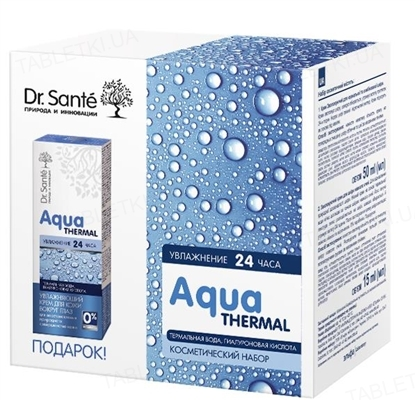 Набор Dr.Sante Aqua Thermal уход за кожей лица