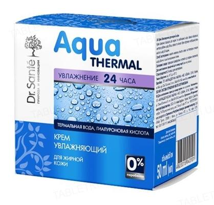 Крем для лица Dr.Sante Aqua Thermal увлажняющий для жирной кожи, 50 мл