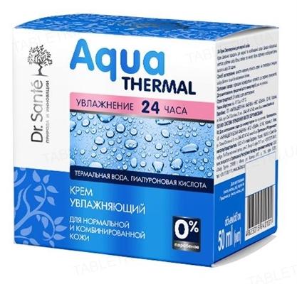 Крем для лица Dr.Sante Aqua Thermal увлажняющий для нормальной и комбинированной кожи, 50 мл