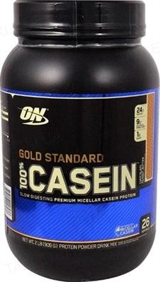 Протеин Optimum Nutrition 100% Casein (Казеин) Protein Gold Standard, шоколад и арахисовое масло, 909 г