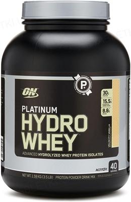 Протеїн Optimum Nutrition Platinum Hydrowhey, ваніль, 1,59 кг