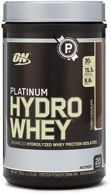 Протеин Optimum Nutrition Platinum Hydrowhey, Turbo шоколад, 795 г