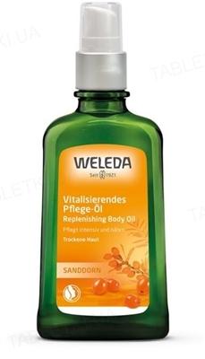 Массажное масло для тела Weleda, Облепиховое питательное, 100 мл