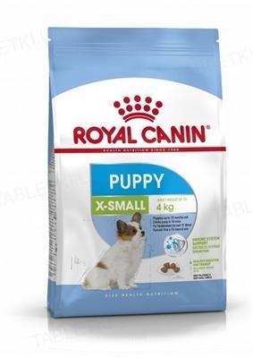 Корм сухой для собак Royal Canin X-Small Puppy мелких пород весом до 4 кг, до 10 месяцев, 1,5 кг