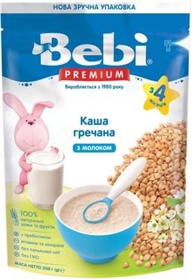 Сухая молочная каша Bebi Premium Гречневая, 200 г