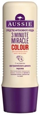Средство для интенсивного ухода Aussie 3 Minute Miracle Colour для окрашенных волос, 250 мл