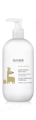 Молочко детское Babe Laboratorios Pediatric увлажняющее для тела, 500 мл