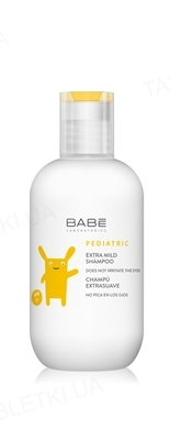 Шампунь детский Babe Laboratorios Pediatric экстра мягкий, 200 мл