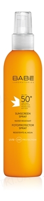 Спрей сонцезахисний  Babe Laboratorios Sun Protection, SPF 50+, 200 мл