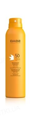 Спрей сонцезахисний Babe Laboratorios Sun Protection прозорий водостійкий з матуючим ефектом, SPF 50+, 200 мл