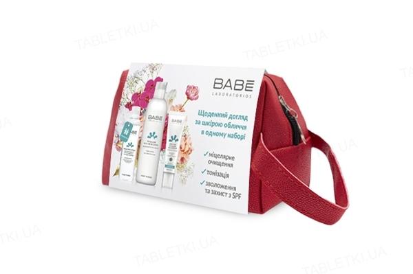 Набор Babe Laboratorios Ты прекрасна, для ежедневного очищения, тонизирования и увлажнения кожи лица, с мицеллярной водой