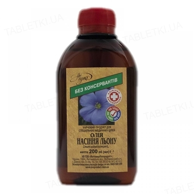Масло семян льна Ан-нушка по 200 мл во флак.