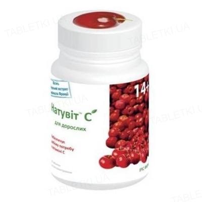 Натувит С для взрослых таблетки для рассасывания по 360 мг №30