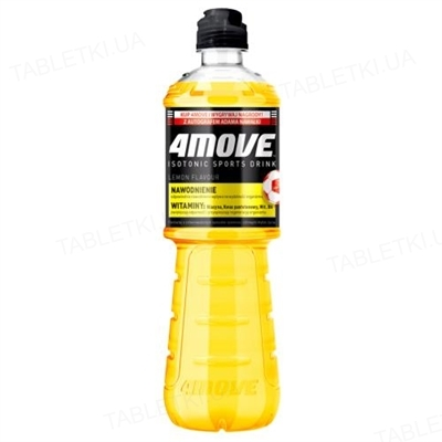 Ізотонік 4Move лимон, 750 мл