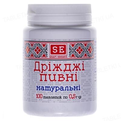 Дрожжи пивные Фармаком натуральные таблетки №100 в бан.
