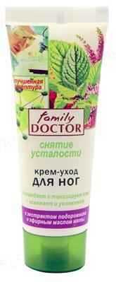 Крем-уход для ног Family Doctor Снятие усталости, 75 мл