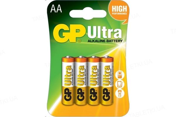 Батарейка GP 15AU-U4 щелочная LR6 AA