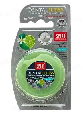 Зубна нитка Splat Professional з ароматом бергамоту і лайма, 30 м