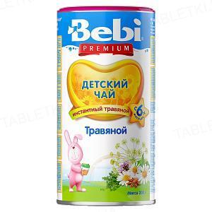 Сухий швидкорозчинний напій Bebi Premium Трав'яний чай, 200 г