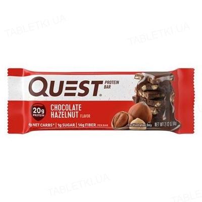 Батончик протеиновый Quest Bar 60 г 1/12 Chocolate hazelnut