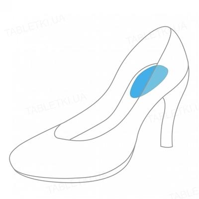 Подпяточник Uriel LF374 Heel Cushions силиконовый