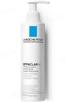 Крем-гель La Roche-Posay Effaclar очищуючий, заспокійливий, зволожуючий, для жирної, проблемної шкіри, 200 мл
