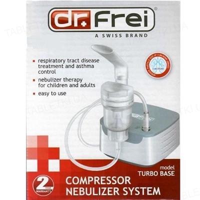 Ингалятор (небулайзер) Dr. Frei turbo base компрессорный