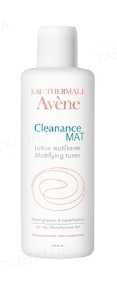 Лосьон Avene Cleanance MAT матирующий для жирной, проблемной кожи, 200 мл
