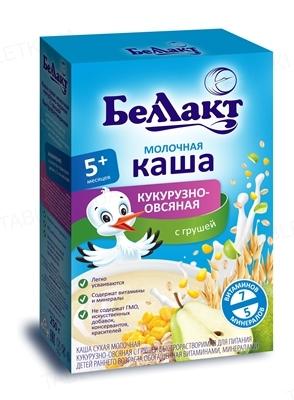 Каша сухая молочная Беллакт Кукурузно-овсяная с грушей, 200 г