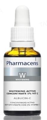 Концентрат Pharmaceris W Albucin-C активный отбеливающий с  5% Витамин С, 30 мл