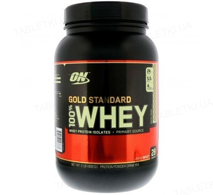 Протеин Optimum Nutrition 100% Whey Gold Standard, роки роуд, 909 г