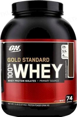 Протеїн Optimum Nutrition 100% Whey Gold Standard, Подвійний шоколад, 2,27 кг