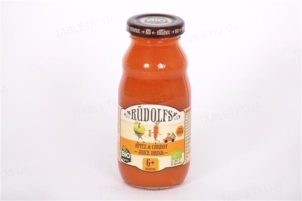 Сок Rudolfs Яблоко-морковь, с мякотью, 190 мл